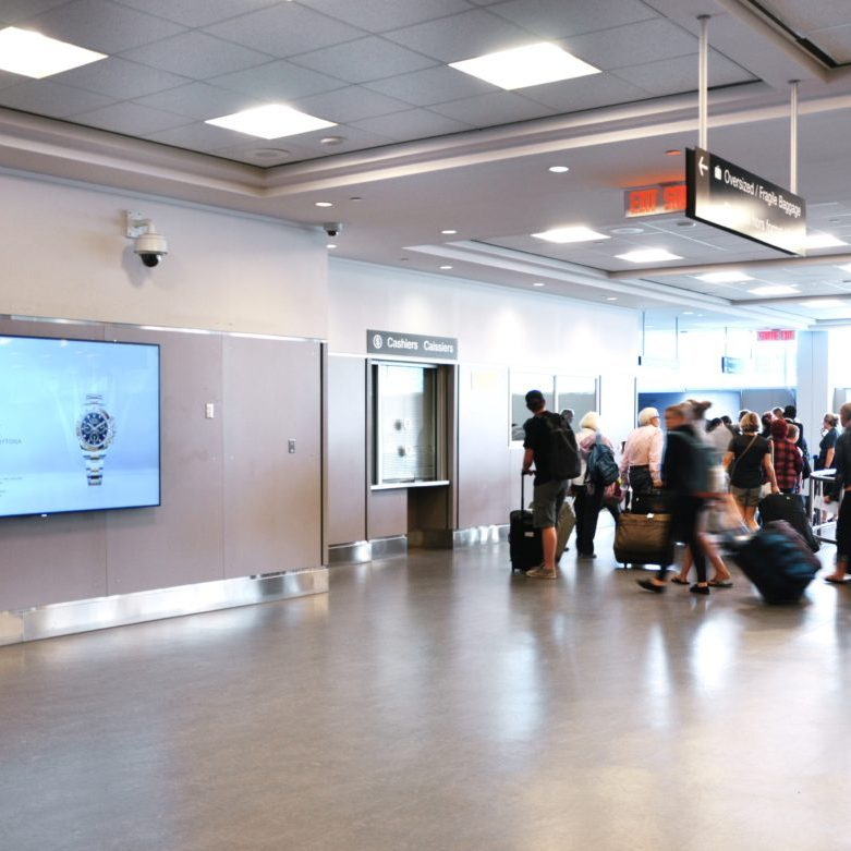 Rolex - Billy Bishop Toronto City Airport - Arrivals - Digital Spectacular (Toronto, Ontario)