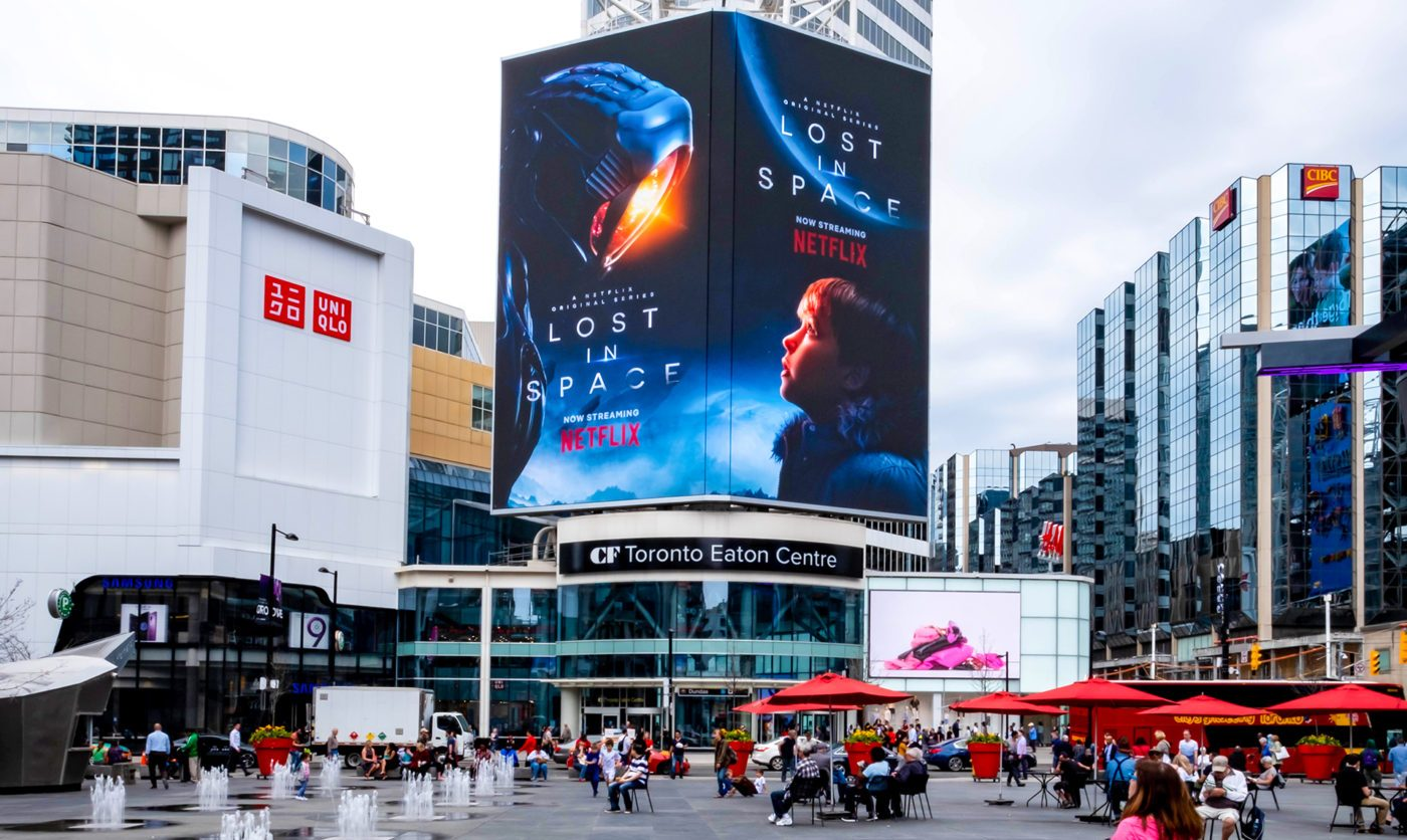 Netflix – Lost in Space - YDS - CF TEC Tower (Toronto, Ontario)