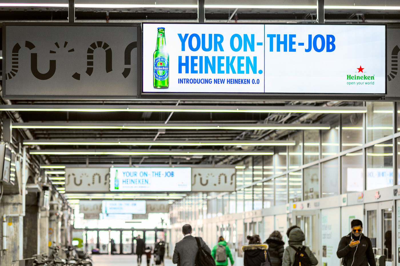 Heineken - 0.0 - Union Station - York St Teamway - Digital Screen Network (Toronto, Ontario)