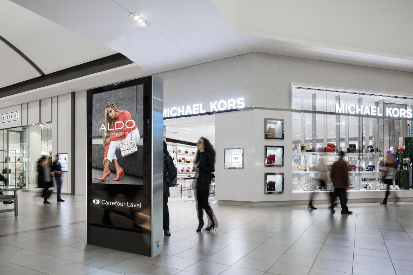 Aldo - Malls - CF Carrefour Laval - Digital Directory (Laval, Quebec)