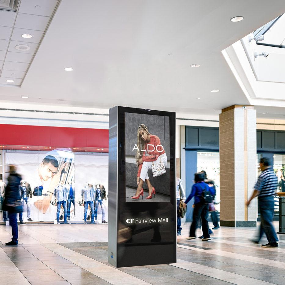 Aldo - CF Fairview Mall - Digital Directory Mockup (Toronto, Ontario)