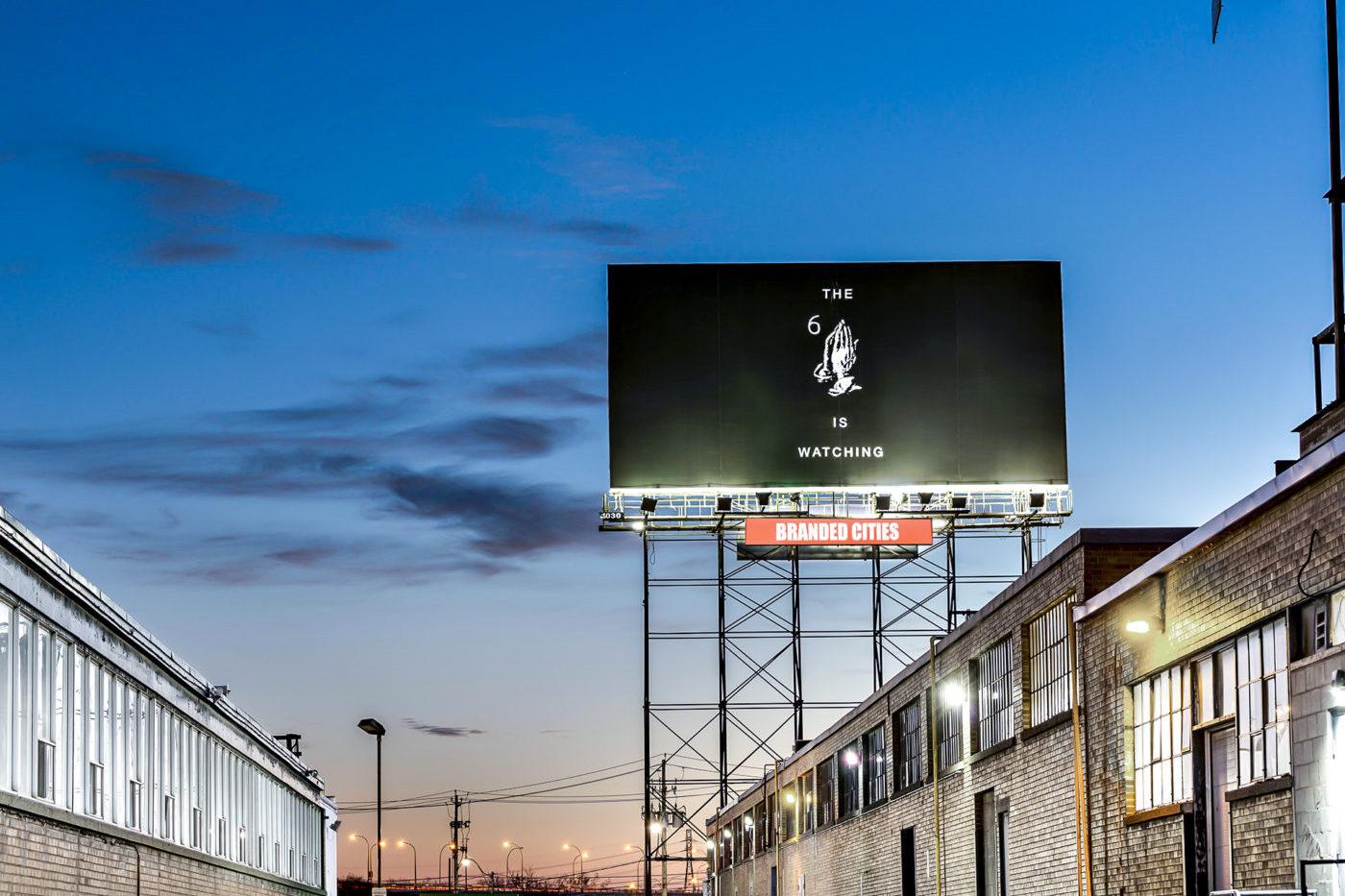 Drake - The 6 is Watching - Spectaculars (Toronto, Ontario)