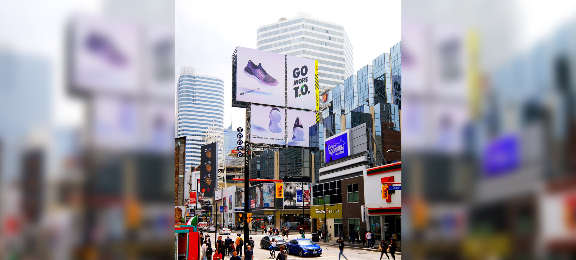 YouTube Music - Shawn Mendes - Yonge-Dundas Square - Spectaculars - AOB Tower North Domination (Toronto, Ontario)