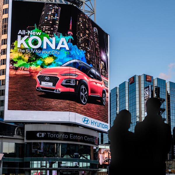 Hyundai - Yonge-Dundas Square - CF TEC Tower (Toronto, ON)