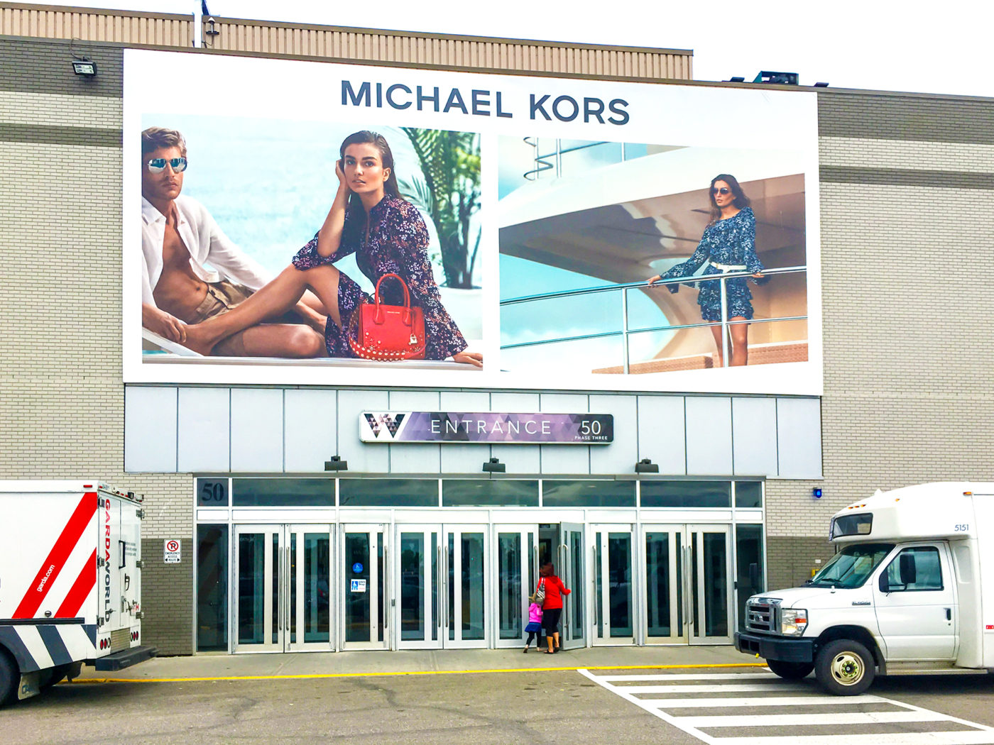 Michael Kors - West Edmonton Mall - Exterior Display (Edmonton, Alberta)