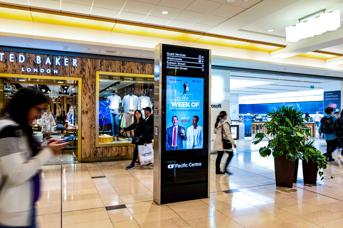 Netflix – The Week Of - Malls - CF Pacific Mall - Digital Directory (Markham, Ontario)