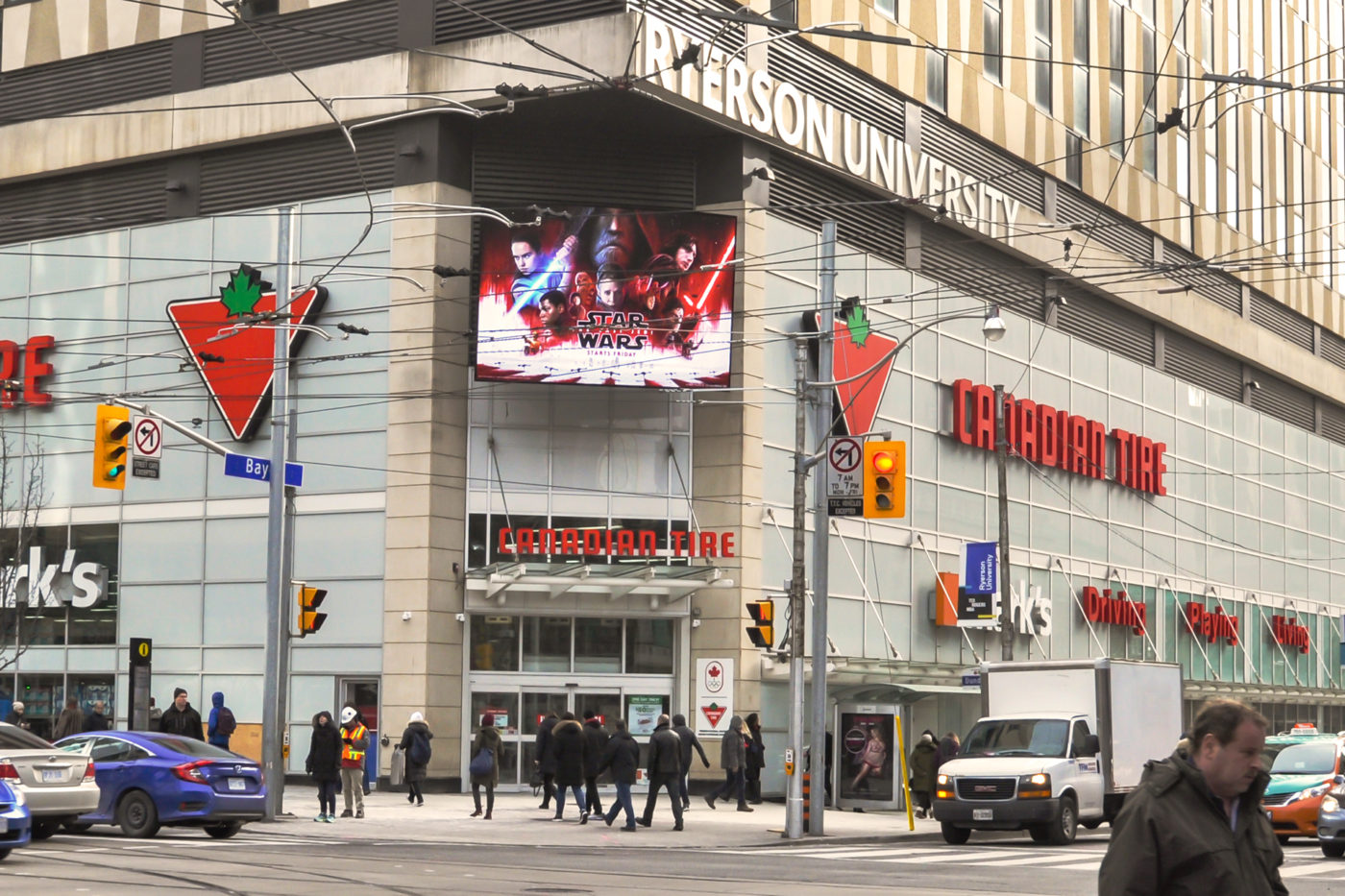 Star Wars - Malls - CF Toronto Eaton Centre - Exterior (Toronto, Ontario)