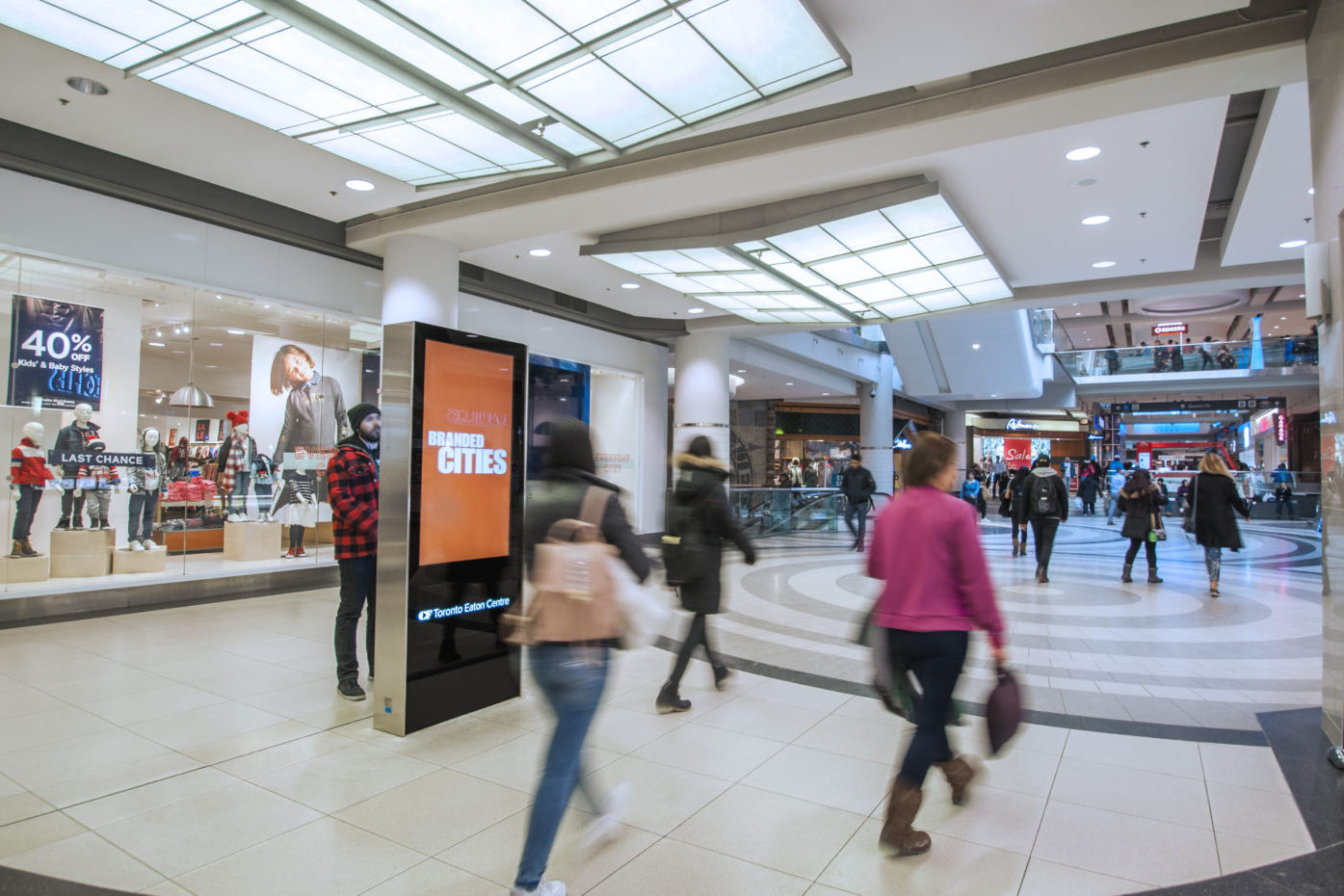 Branded Cities Logo - Malls - CF Toronto Eaton Centre - Digital Directory (Toronto, Ontario)