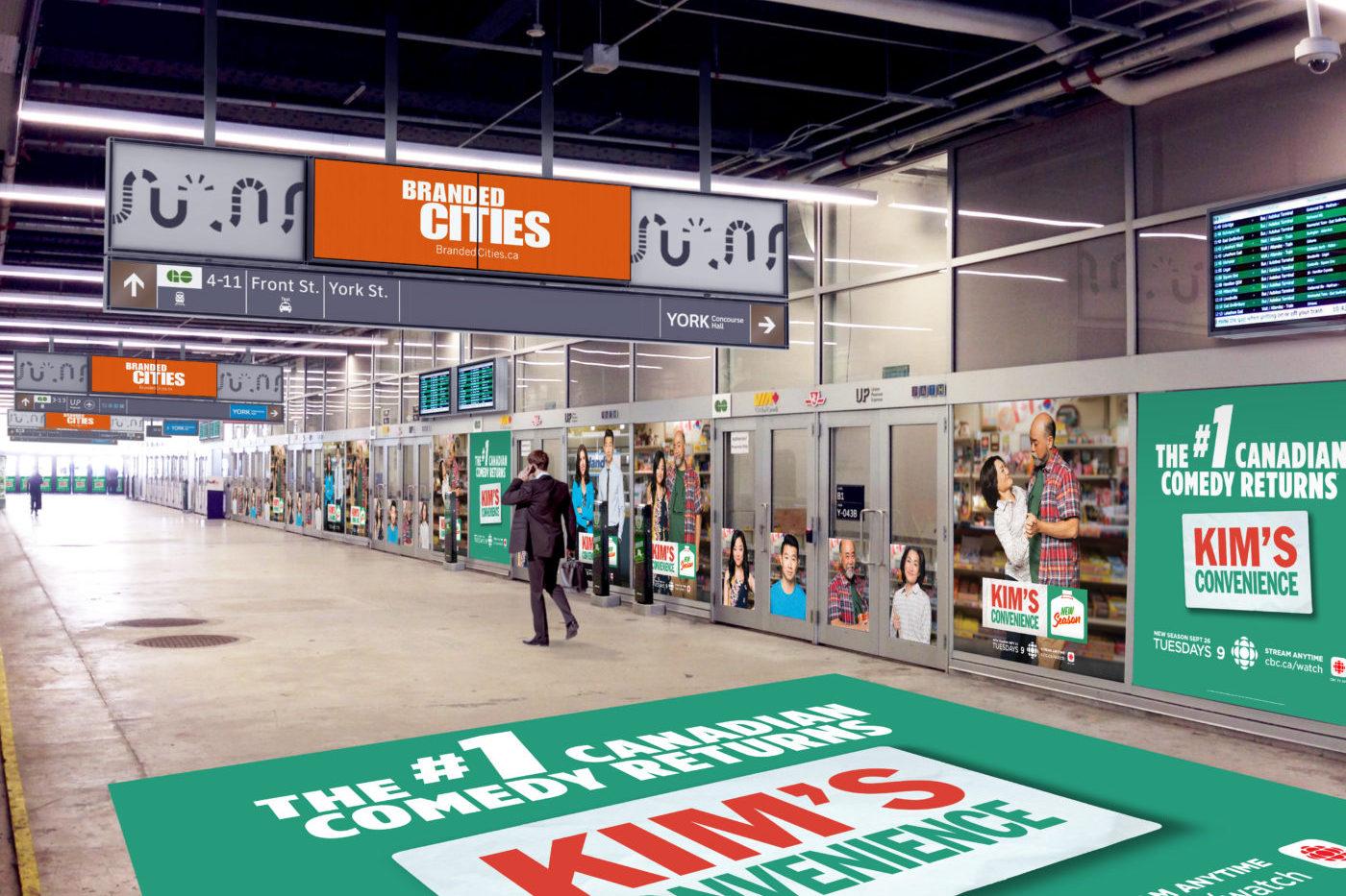 CBC - Kim's Convenience - Union Station - York St. Teamway (Toronto, Ontario)
