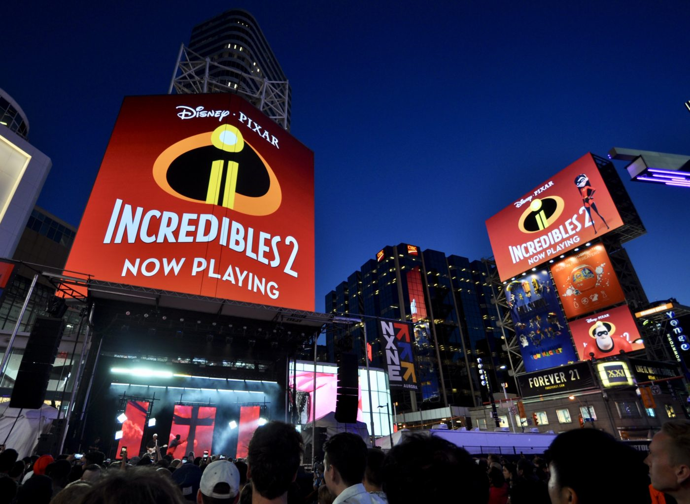 Disney - Pixar - Incredibles 2 - YDS Domination - CF TEC Tower & AOB Media Tower (Toronto, Ontario)